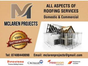 McLaren Projects - Roofing Services