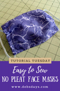 How to Sew a DIY Cloth Face Mask